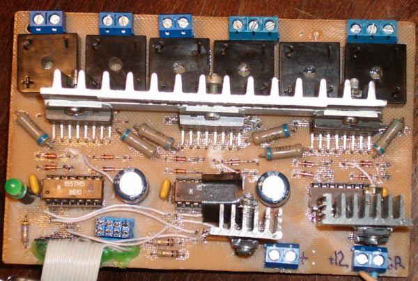 контроллер на ТМ7+L298
