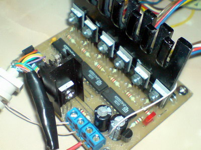 на ТМ7 + драйвер на ULN2004