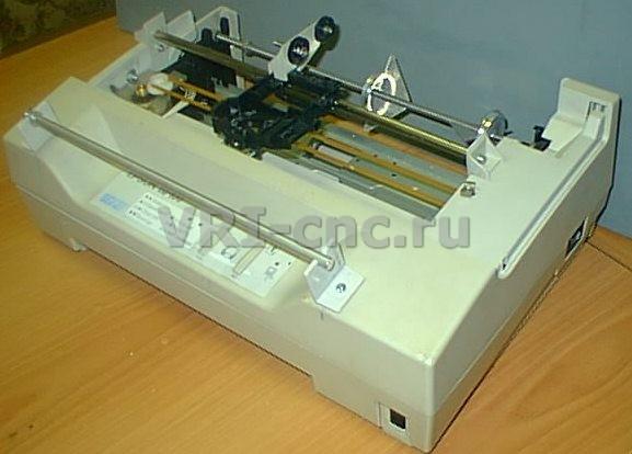 из принтера Epson LQ-100.